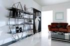 2011# modern metal wine cabinet