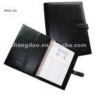 Genuine Leather Cover Spiral Notebook For Audi Promotional Item