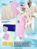 bath robe & bathing head band