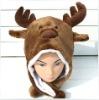 Funny kids hat moose shaped (YE1041M)