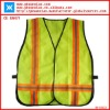 Traffic police mesh reflective vest with Hi-viz PVC tape