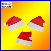 ST-FM01-2# cute plush christmas hats cotton/polyester/non-woven fabric