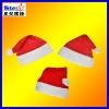 ST-FM01-2# cute plush christmas hats cotton/polyester/non-woven fabric