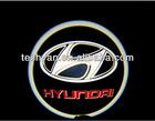 LED car logo door welcome light
