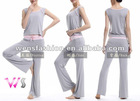 woman 2-piece yoga suit