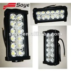 7.5'' 2500LM 36W Bright LED Offroad LED light bar for Auto light aluminum cabin boats lighting