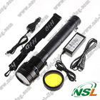 HID xenon torch/flashlight 85W Ultra bright Rechargeable handheld for outdoor camping