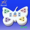 6 way butterfly-shaped power strip