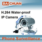 H.264 IP camera Waterproof infrared