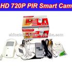 720P HD PIR Motion Detection IR CCTV Security DVR Camera
