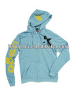 Piped zip-front Hoodie for women HGS830