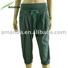 women harem pants with string at waistband
