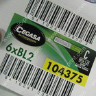 Bar Code Label- for Electronic Products(UNIC-BL162)