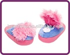2012 New Design Plush Stompeez Slippers