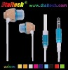 Wooden earphone for game player earphone