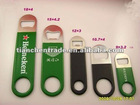 Beer bottle opener with PVC cover