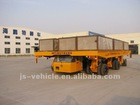 75T Self-propelled Heavy-duty Hydraulic Flatbed truck trailer (JHP75ZXPA1)