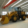 SWM952 4WDwheel loader with 5T 2.5 bucket capacity and total weight 17150kg