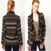 Warehouse Knitted Wrap Winter Jacket