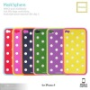 Mark'sphere dots case sillicon case for iphone 4s/4g