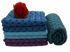Microfiber anti-slip yoga towel skidless yoga mat microfiber towel