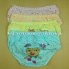 0.32USD High Quality Cotton Assorted-Print Lovely Child/Children Thong Panties (jlhnk164)