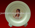 "Ceramic Plate 8"" for sublimation"