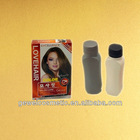 red hair dye colors .30ml*2,china whoesale price hair dye
