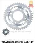 TITAN2000 Motorcycle Chain Sprocket 44T+14T