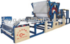 YA-01C horizontal single cementing groove mesh belt laminating machine