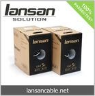 UTP CAT 5E 100Mhz Cable, 4PR 24AWG Solid Copper, PVC/LSOH, ETL/UL/ROHS, LANSAN