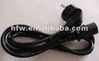 Hot sell locking plug ac power cord