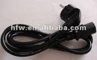 Hot sell locking plug ac power cord
