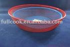 Colorful rounded shape food basket, fruit basket, vegetable basket