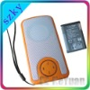 FM with SD Card playing Portable digital speaker