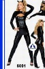 2012Hot sale animal sexy leather costume cat girl