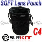 "C4 SOFT Lens Pouch Case 95mm x 160mm / 3.74"" x 6.30 """