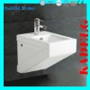 White Rectangular WC Bidet Toilet