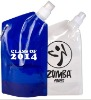 Collapsible Drinking Metallic colorFolding Water Bottle