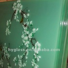 art glass decorative glass Acid Etched Glass