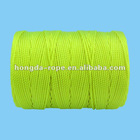 #18 x 540 ft. Twisted Mason Assorted Rope Flour Yellow With Tube