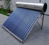 Compact non-pressurized stainless steel solar water heater