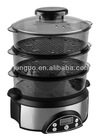 800W 3 Layers GS/CE Approved Digital Food Steamer (FS04)