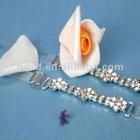 Decorative bra straps with rhinrstone