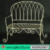 Wrought Iron Garden Mesh Chair