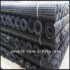 Ceiling steel-plastic grid for mining