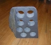 Hotel or Home Appliance Slate Stone Wine Rack-8holes