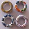 popular metal eyelet with printed pattern