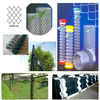 PVC Coated and Galvanized Used Chain Link wire mesh Fence For Sale