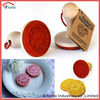 customized silicone cookie cutter stamp with wooden handle